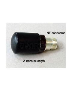GNS-1421, 3 dBi, 2.4GHz, Bullet WLAN Antenna with  Integrated N-Female Connector