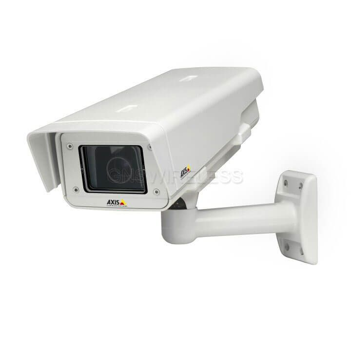 AXIS Q1604-E 1MP Outdoor Day/Night Fixed Network Camera w/ Varifocal 2.8-8 mm DC-iris lens.