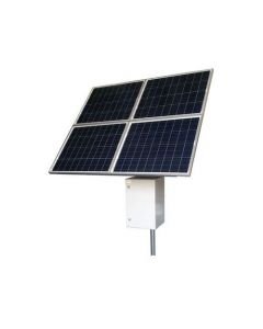 RPST2412-100-240, 50W continuous output w/ 6 hours peak sun, 24V Input, 12V POE Output, 100AH, 240W Solar Panel