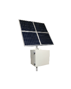 50W Off-Grid Remote Solar Power Solution, 320W Panel, 12V 200ah Battery, 12V 20A Output