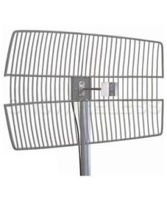 "28dBi 5.7GHz Die Cast Grid Antenna (30"" LMR(R)240 pigtail with NF)"