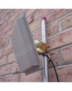 19dBi, 2.4GHz, Outdoor Directional/Patch Antenna, Includes 50ft. Low loss Coaxial cable.  NM/RPTNCM, 20 Degree, N-Female
