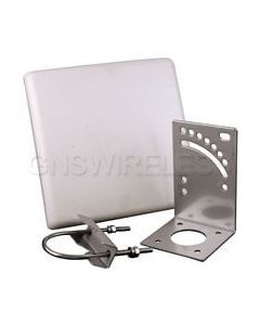 16dBi Directional Patch Antenna, 5725-5850 MHz, NF Connector, 16 Degree Vert/Horizontal