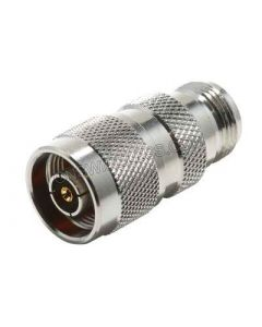 RP-N-Male Crimp Connector for Low Loss 195 coaxial cable
