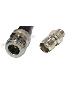 N-Female to TNC-Female, 240 Series Coaxial Cable