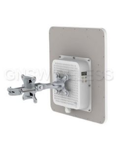 PTP5-23-PRO, 5.8GHz, 220Mbps, Integrated 23dBi 2x2 MIMO Antenna, Point to Point Radio, PS/POE Included.