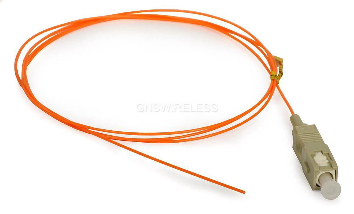 FIB-2-INT-LC-ODC-1, 2M multimode fiber pigtail cable - ODC - LC connectors