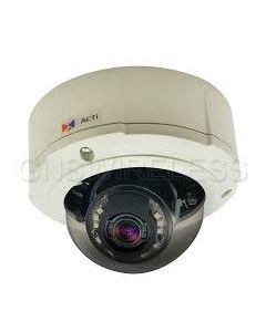 B84, 1.3MP Outdoor Zoom Fixed Dome Camera with D/N, IR, Basic WDR, SLLS, 3x Zoom lens
