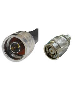 N-Male to RP-TNC-Male, 195 Series Coaxial Cable