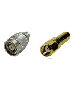 RP-TNC-Male to RP-SMA-Male, 195 Series Coaxial Cable