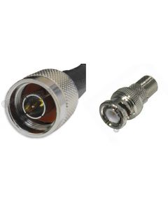 N-Male to BNC-Male, 195 Series Coaxial Cable