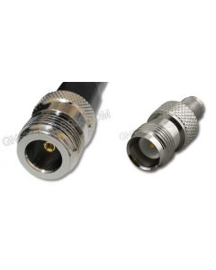 N-Female to RP-TNC-Female, 195 Series Coaxial Cable