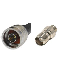 N-Male to TNC-Female, 195 Series Coaxial Cable