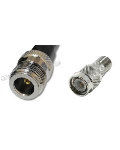 N-Female to TNC-Male, 400 Series Coaxial Cable