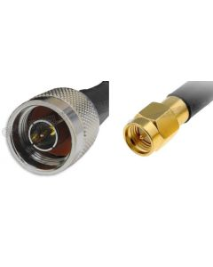 N-Male to SMA-Male, 240 Series Coaxial Cable