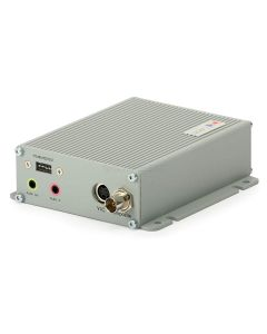 1-channel, MPEG-4, Video Decoder with 25/30 fps at D1, Two-way audio, Motion Detection