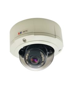 B81, 5MP Outdoor Zoom Fixed Dome Camera with D/N, IR, Basic WDR, 3x Zoom lens