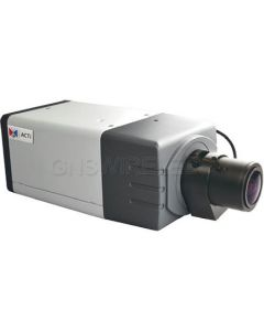 D22-FL, 5MP Box Camera, Fixed Lens, f2.93mm, H.264, 1080p