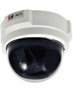 D52, 3MP Indoor Dome Camera with Fixed lens, f3.6mm/F2.0, H.264, 1080p/30fps, DNR, PoE