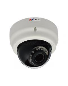 E64, 1MP Indoor Dome Camera with D/N, IR, Superior WDR, Vari-focal Lens