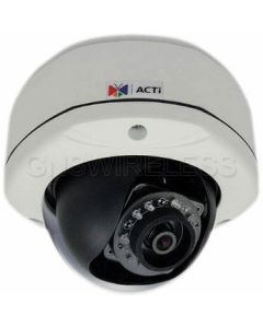 E74A, 3MP Outdoor Dome Camera with D/N, IR, Superior WDR, Fixed Lens f2.93mm, POE, 1080p