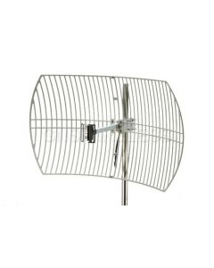 "25dBi 3.5GHz Wire Grid Antenna (30"" LMR(R)240 pigtail with N-Female or N-Male connector), Dimensions: 34""x28"""