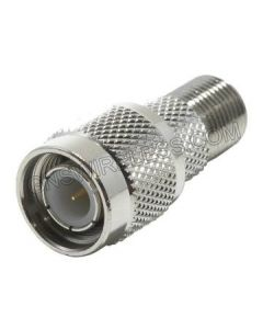 TNC-Male Crimp Connector for Low Loss 195 coaxial cable