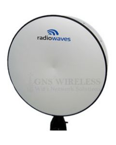 8' (2.4m) High Performance Dish Antenna, 7.75-8.5GHz, Dual Polarized, CPR112G Flange, SOI