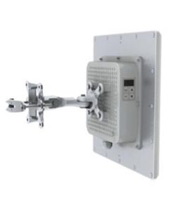 OPEN BOX - 300Mbps Wireless Bridge Network, 5.7 - 5.8GHz, Full Duplex, Point to Point, 23dBi Integrated Panel Antennas, 25dBm TX/RX Power, 128bit encryption, POE/PS included,  1-yr warranty - Pre-Configured - 1 Mile | Complete Link