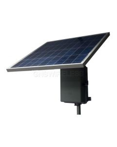 RPPL1212-36-30, 8W continuous output w/ 6 hours peak sun, 12V Input, 12V POE Output, 36AH, 30W Solar Panel